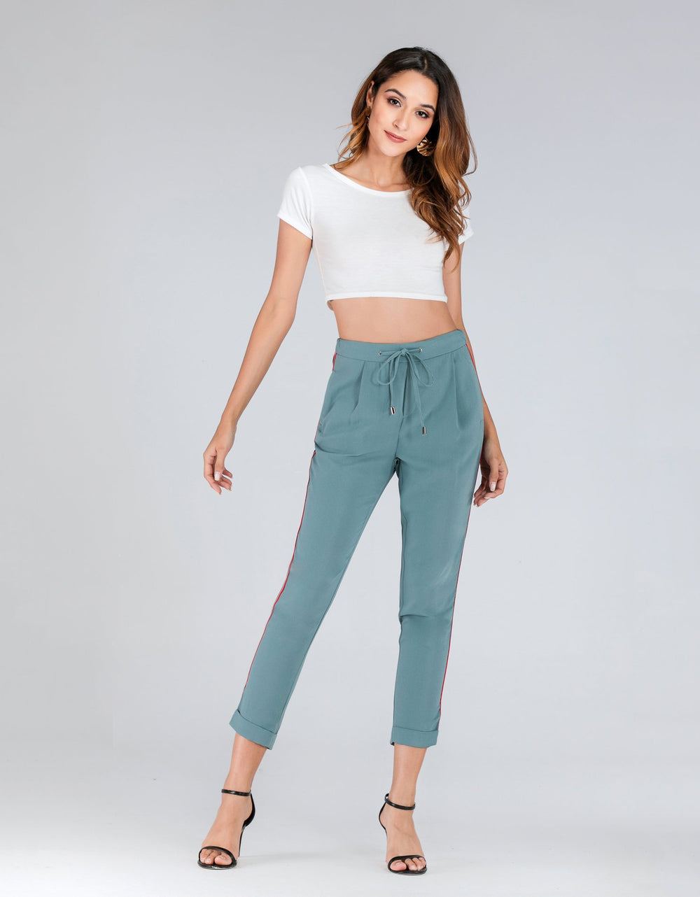 Side Striped Trousers
