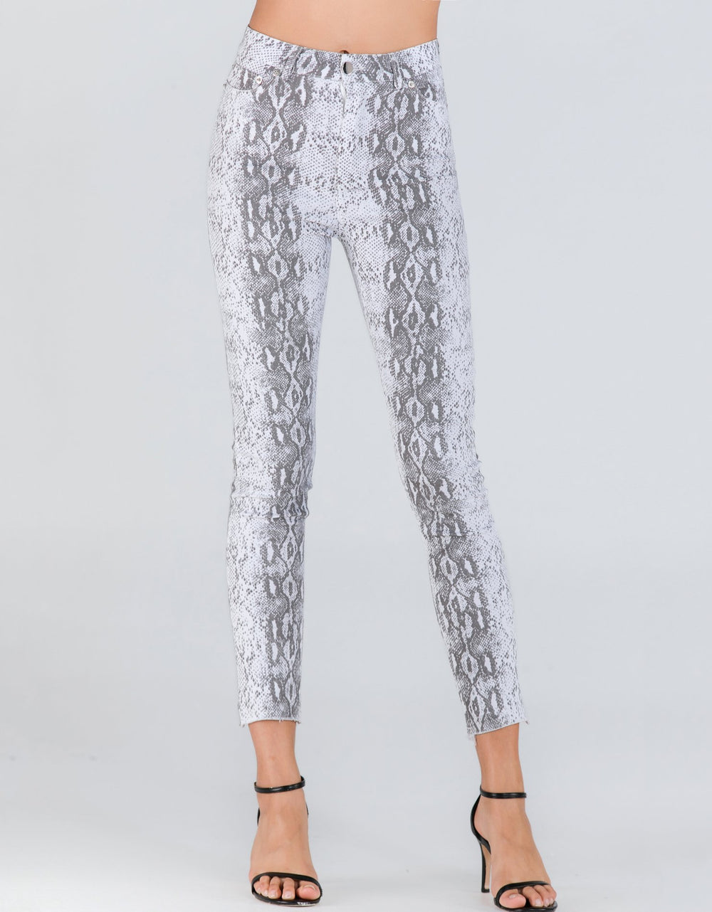 Snake Print Trousers