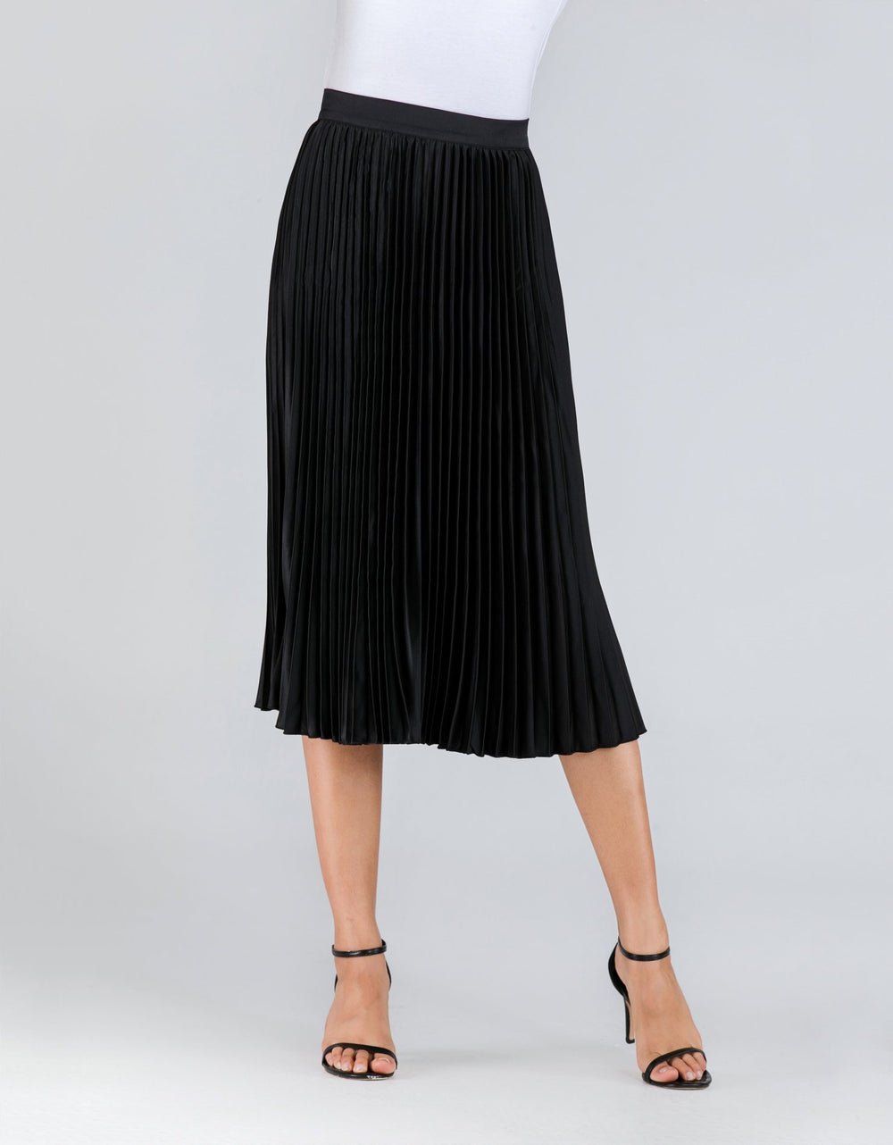 Pleated Short Skirt