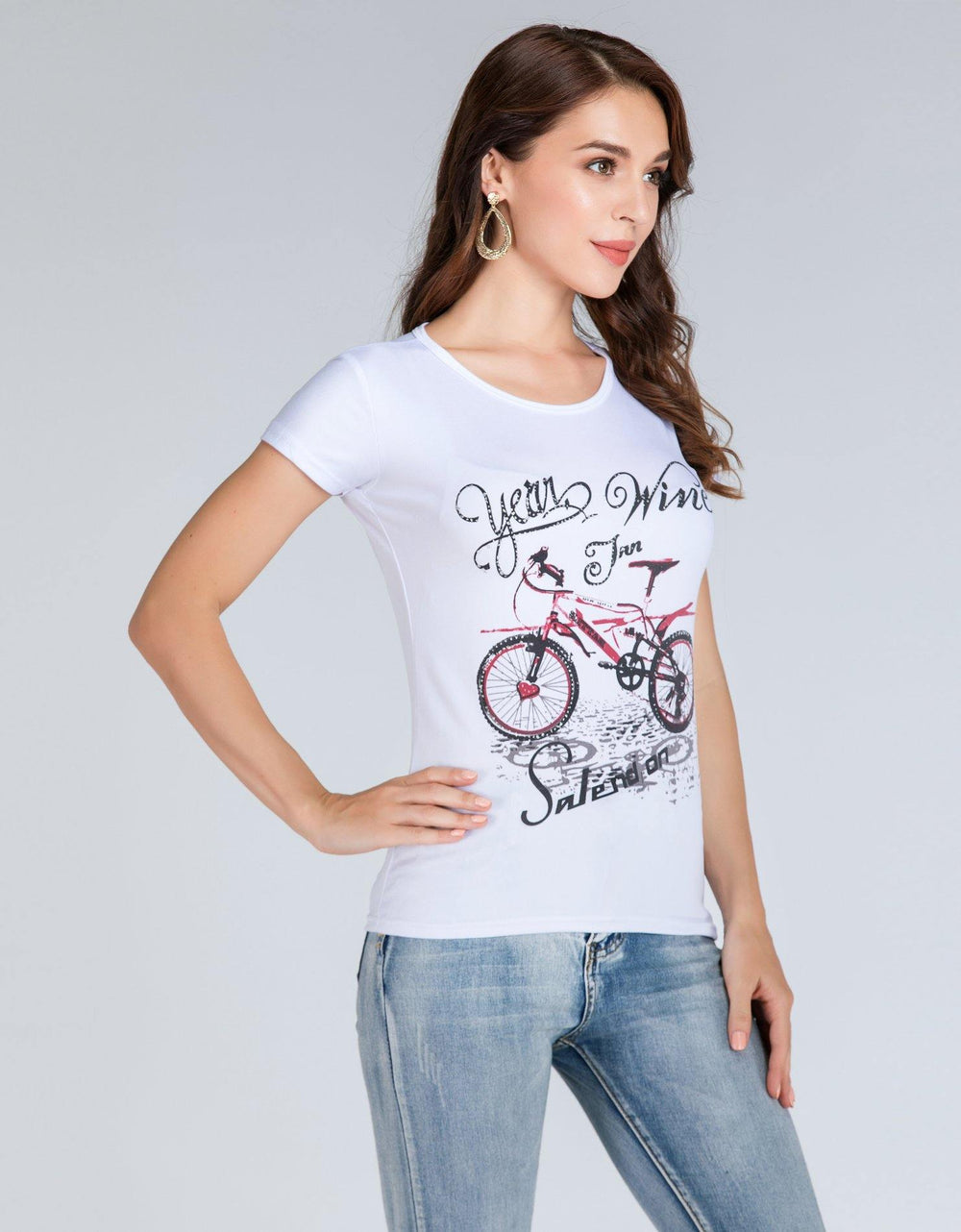 Cycle Art Tee - Brandsea UK