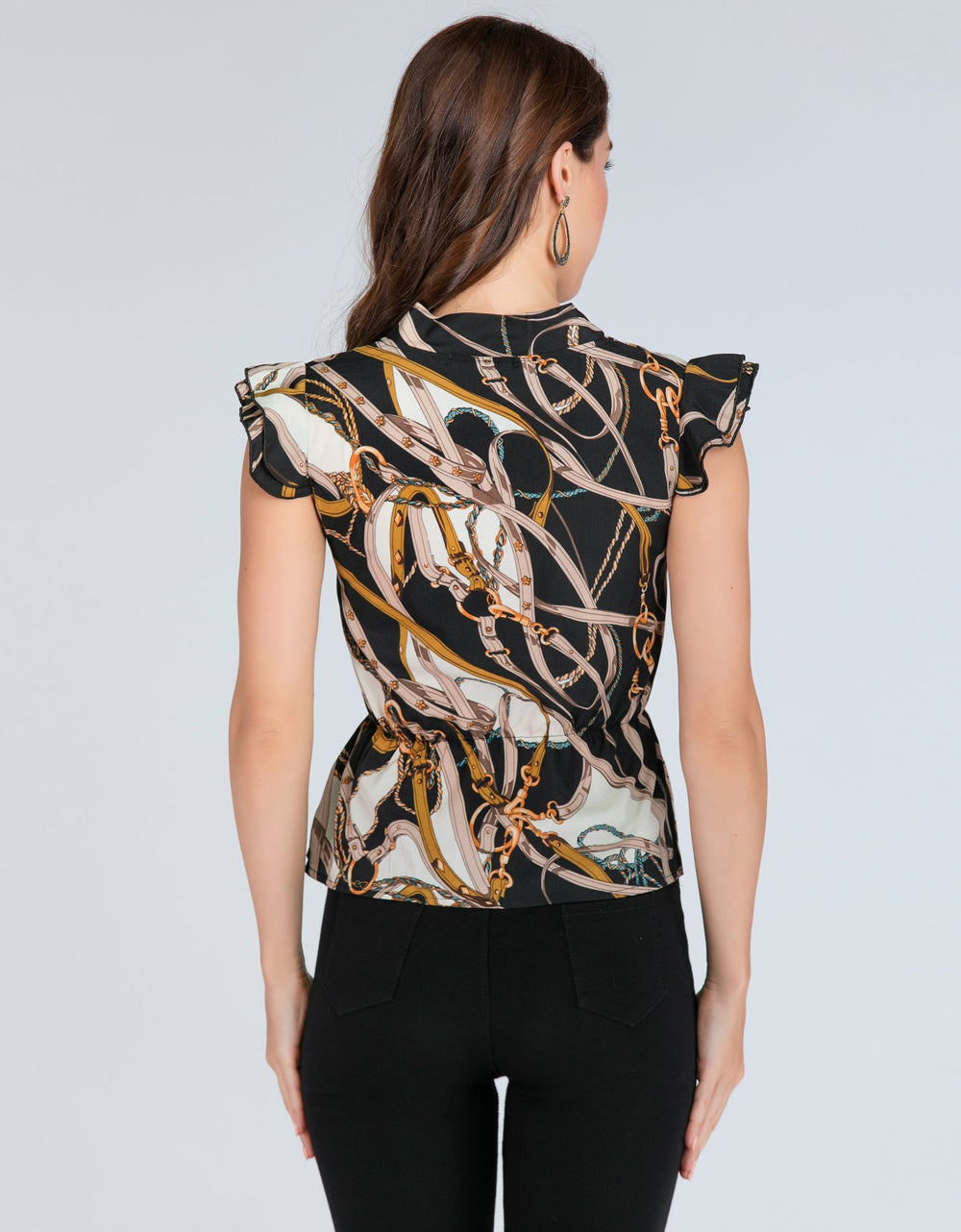 Multi-Color Artistic Top