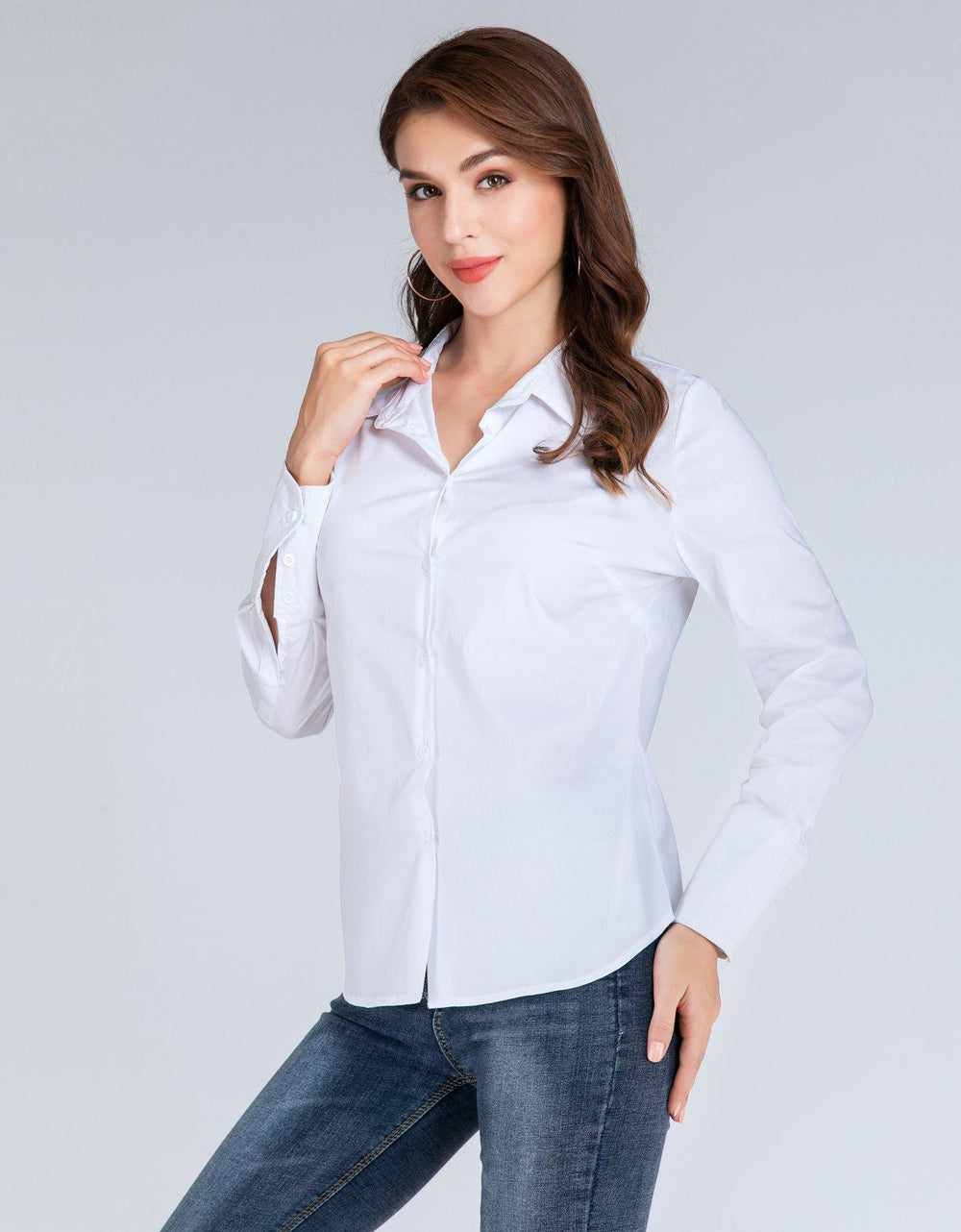 Long Sleeve Collared Shirt - Brandsea UK