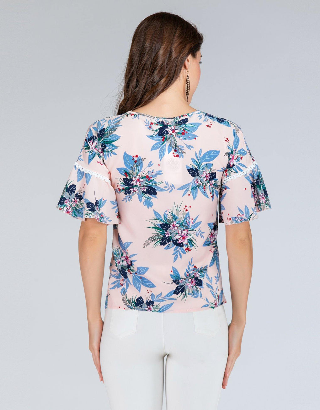 Floral Leaves Top