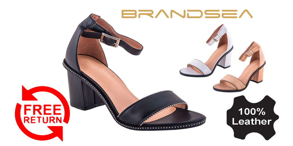 Strap Heel Party Shoes Sandals