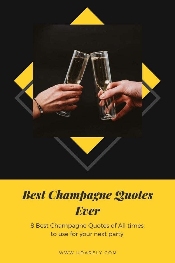 Best Champagne Quotes | UDARELY