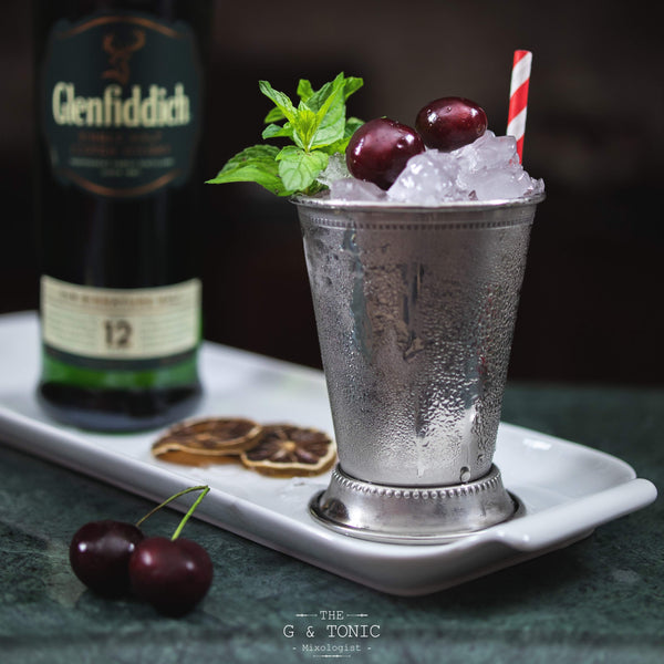 Cherry Julep Cocktail Recipe | UDARELY