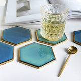 Abyss Coasters - Accesories coaster - Udarely drinkware glassware barware cocktail mocktail coffee tea