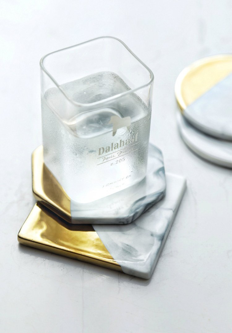 Cloud Marmosa Coasters - Accessories coaster - Udarely drinkware glassware barware cocktail mocktail coffee tea
