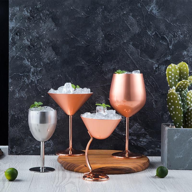 Copper Wine Glasses - drink copper wine - Udarely drinkware glassware barware cocktail mocktail coffee tea