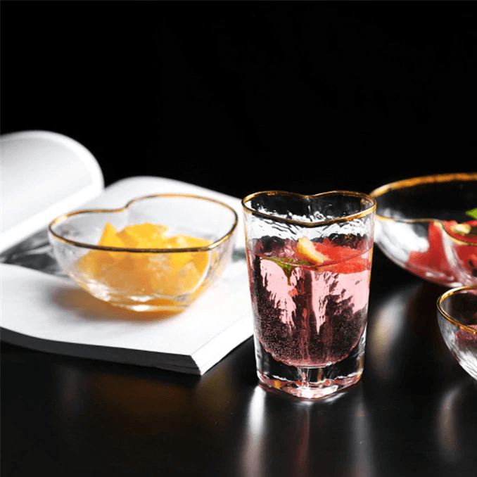 Cupid's Bowls - Bowl - Udarely drinkware glassware barware cocktail mocktail coffee tea