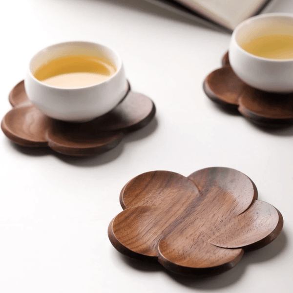 Lotus Coasters - Accessories coaster - Udarely drinkware glassware barware cocktail mocktail coffee tea