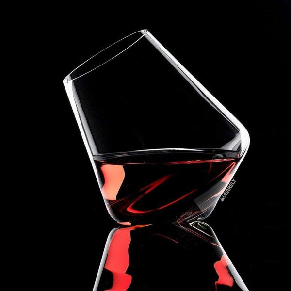 Minerva Spinning Glasses - drink premium wine - Udarely drinkware glassware barware cocktail mocktail coffee tea