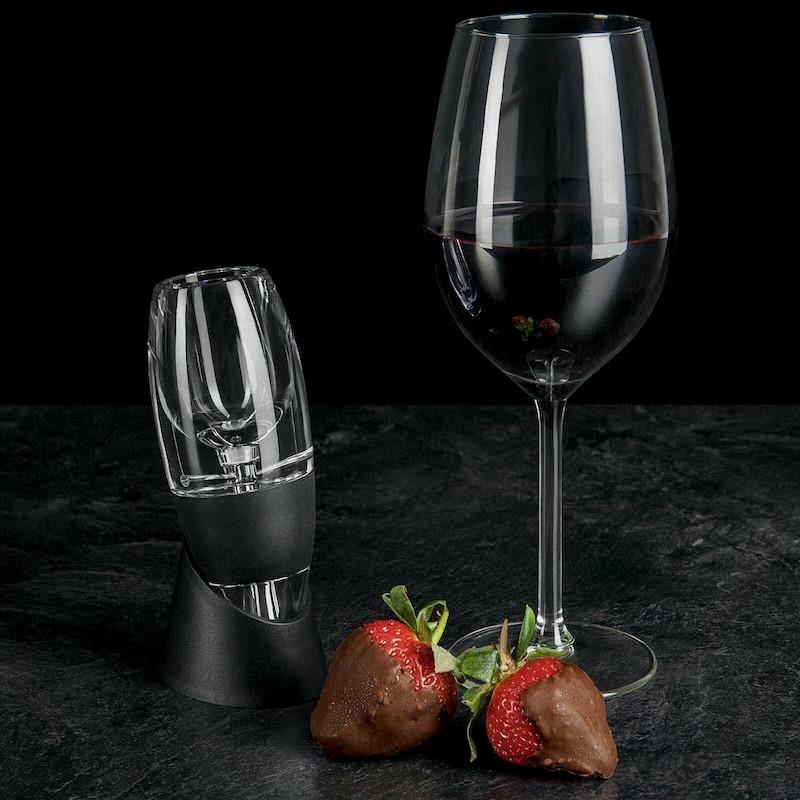 Oro Wine Aerator - decanter accessories - Udarely drinkware glassware barware cocktail mocktail coffee tea
