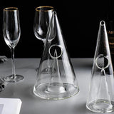 Pine Wine Decanter - wine - Udarely drinkware glassware barware cocktail mocktail coffee tea