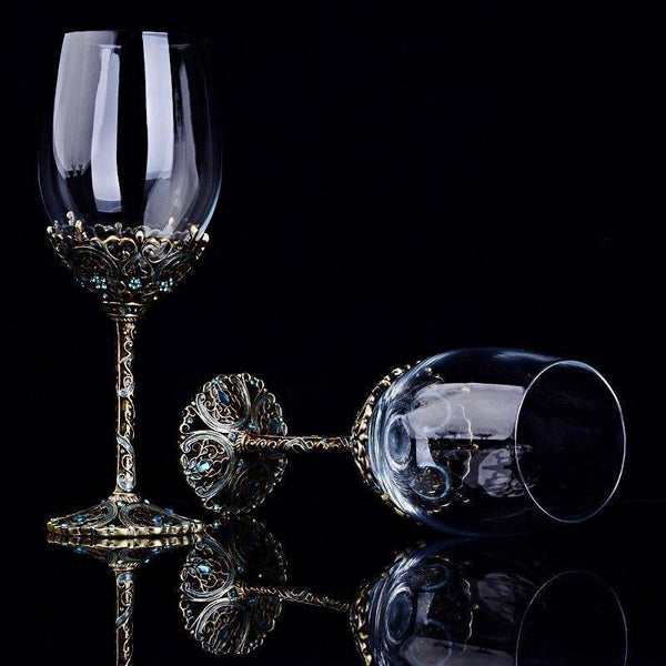 Royal Luxury Wine Set - drink premium wine - Udarely drinkware glassware barware cocktail mocktail coffee tea
