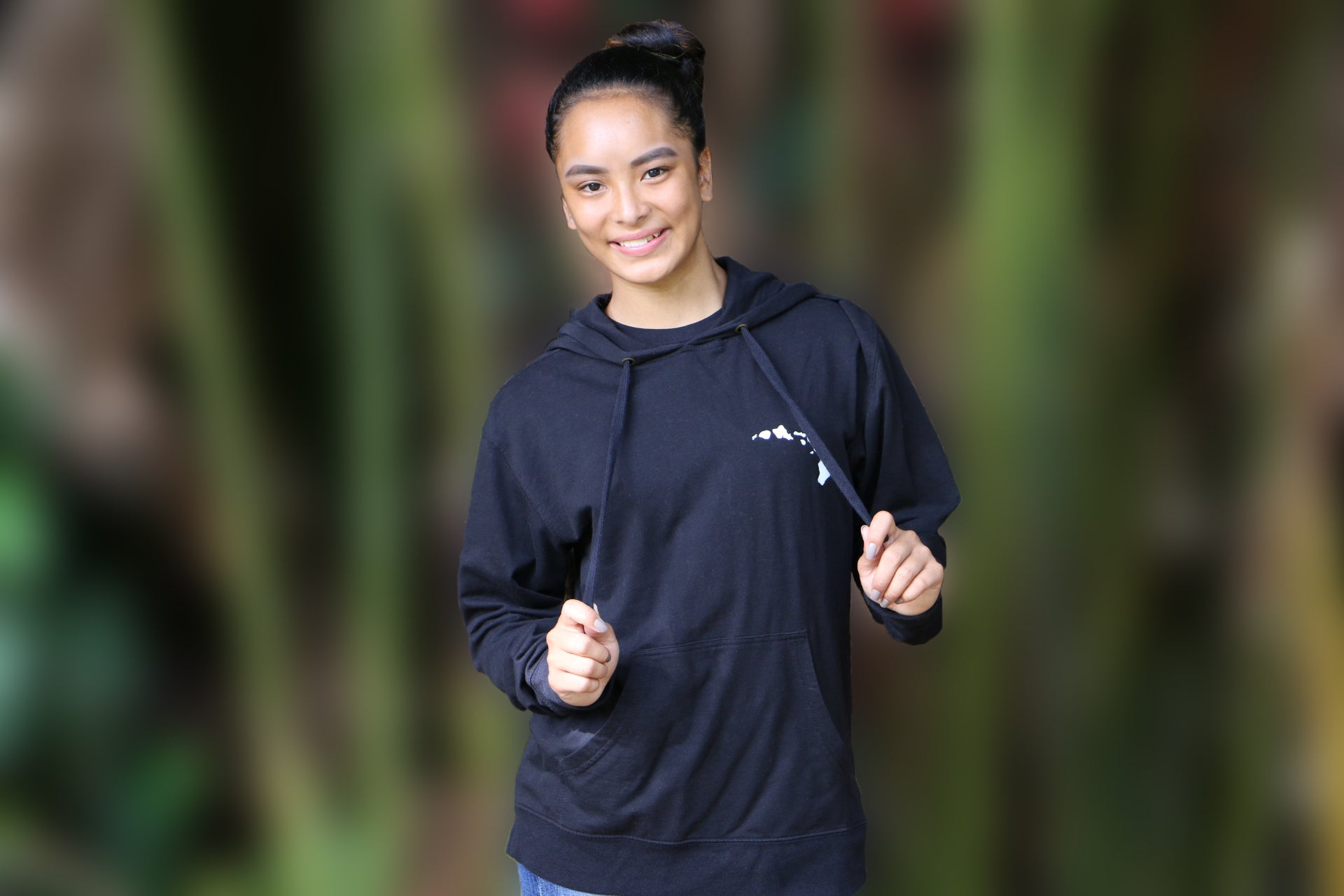 Hoodies: Healing Rain Hawai'i- Black