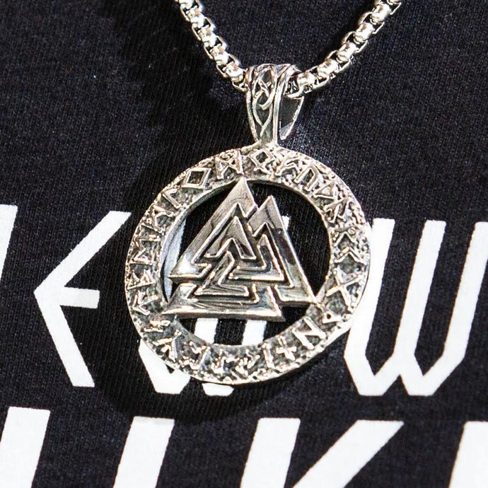 Valknut Runic Necklace
