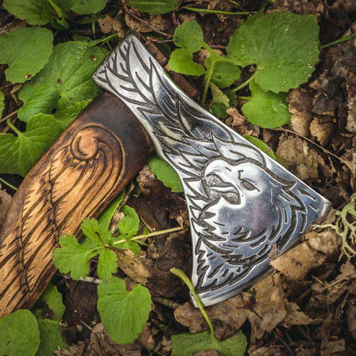 Handmade Eagle Viking Axe