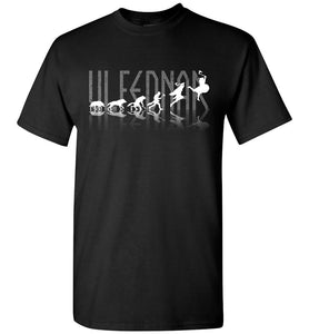 Evolution of Ulfednar Shirt