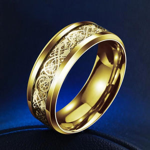 Norse Dragon Ring