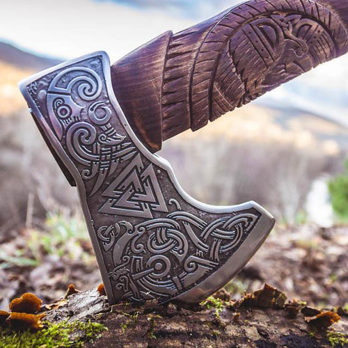Handmade Allfather Axe