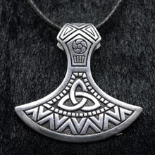 Load image into Gallery viewer, Triquetra Axe Necklace