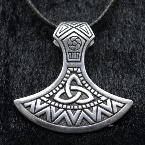 Triquetra Axe Necklace