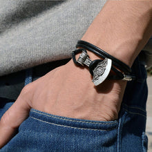 Load image into Gallery viewer, Viking Axe Bracelet