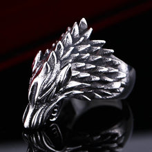 Load image into Gallery viewer, Fenrir Wolf Ring