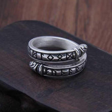 Load image into Gallery viewer, Adjustable Runic Ring