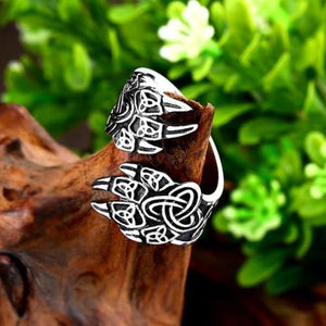 Adjustable Bear Paw Ring