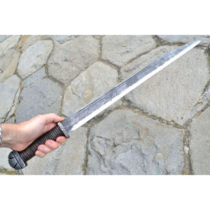 Long Viking Seax Knife