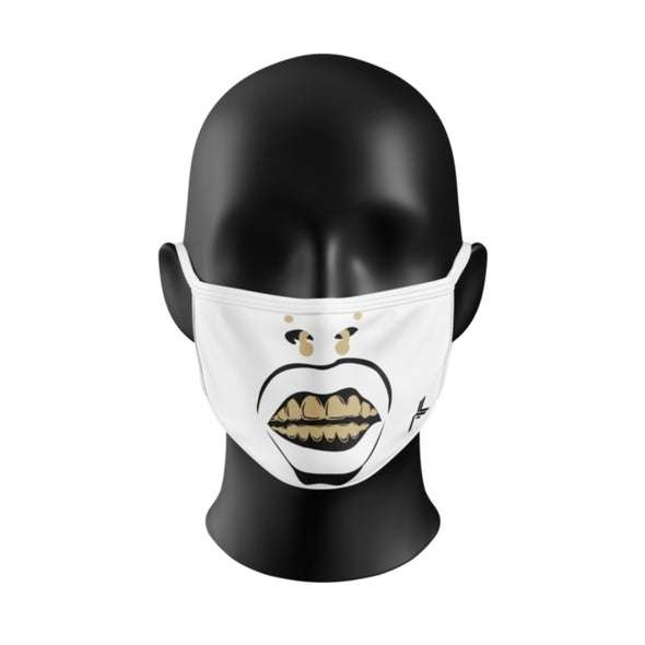 FREE GIVEAWAY!!!! White Faceoff Mask... 1 Per Order!