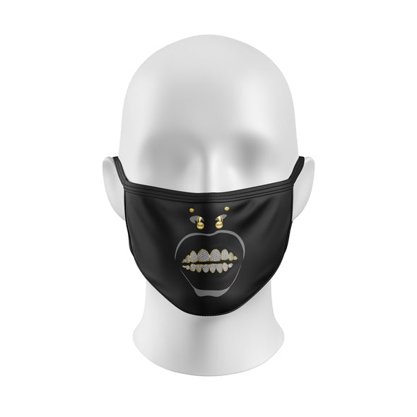 AK 41 Diamond Grill Black Mask