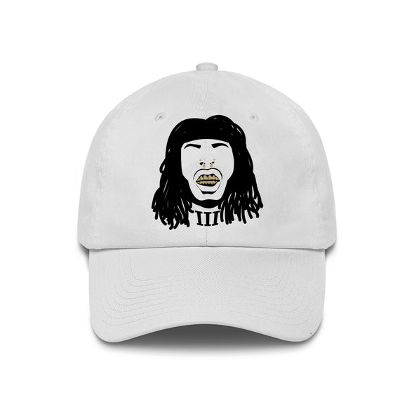 Faceoff White Dad Hat