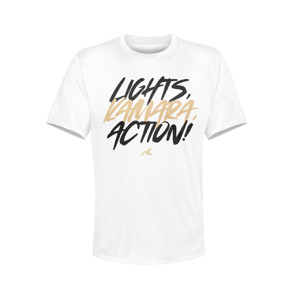 LIGHTS, KAMARA, ACTION! [WHITE]