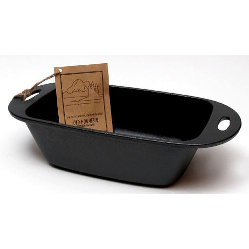 Old Mountain Cast Iron Preseasoned Loaf Pan