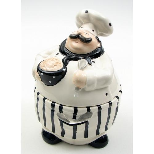 Chef Cookie Jar  as is