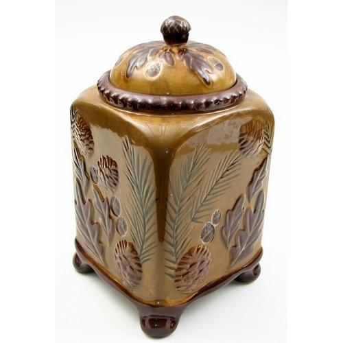 Pinecone Cookie Jar
