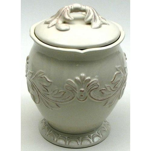 Decorative Ceramic Cookie Jar with seal
