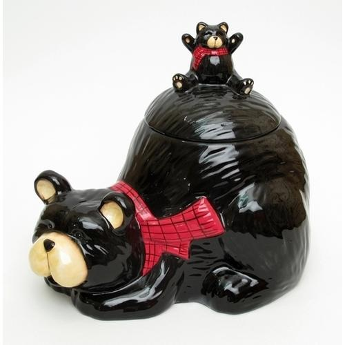 Northwoods Bear Cookie Jar