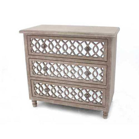 Country Cottage Cabinet with 3 Drawers