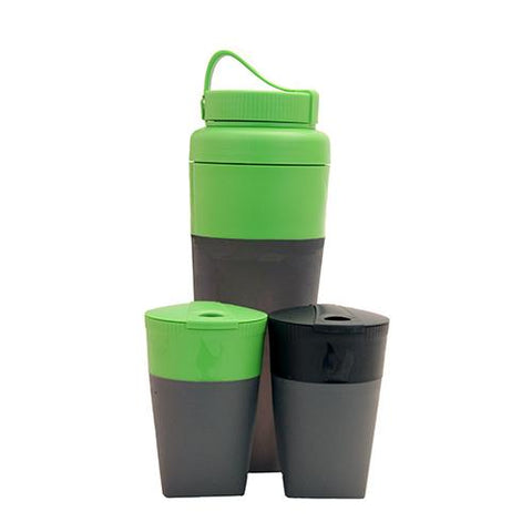 Pack Up Drink Kit Green and Black