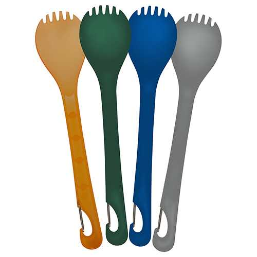 Klipp Spork, Multi Color, Package of 4