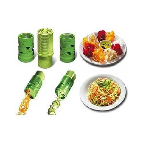 VEGGIE MAGICAL SLICER and Salad Decorator