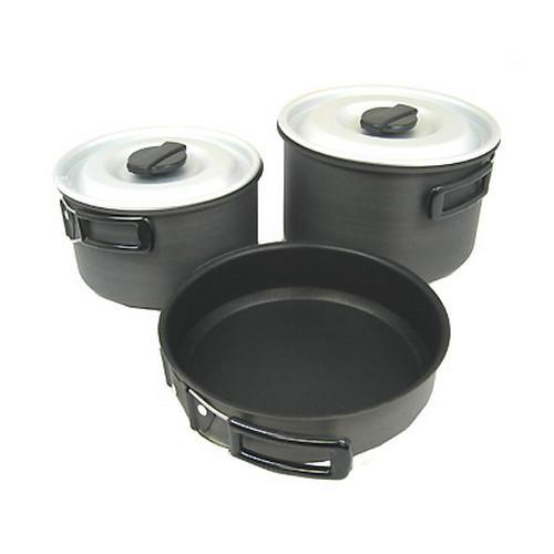 Ridge Hard Anodized Cookset Large