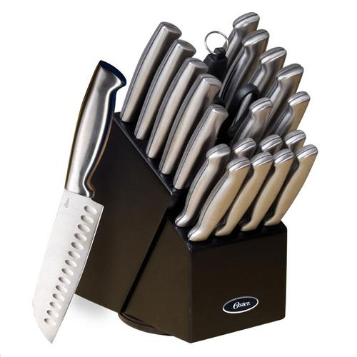 Oster Baldwyn 22 Piece Cutlery Block Set