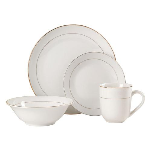 Gibson Gold Moon 16 pc Dinnerware Set