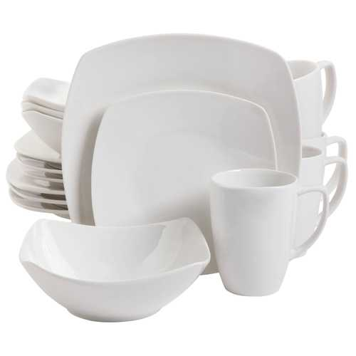 Zen Buffetware 16 piece Square Dinnerware Set