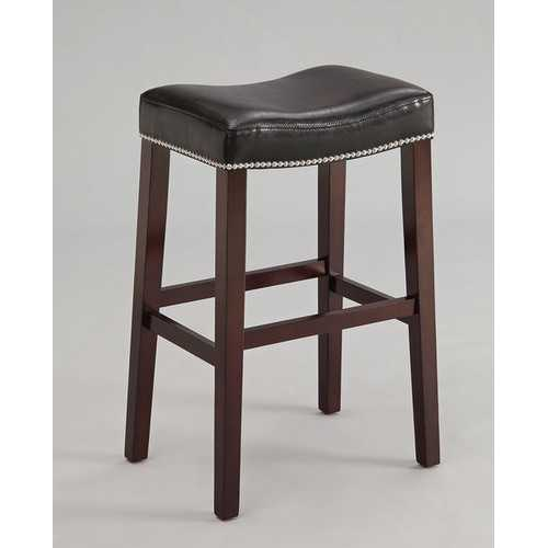 Bar Stool (Set-2), Black & Espresso